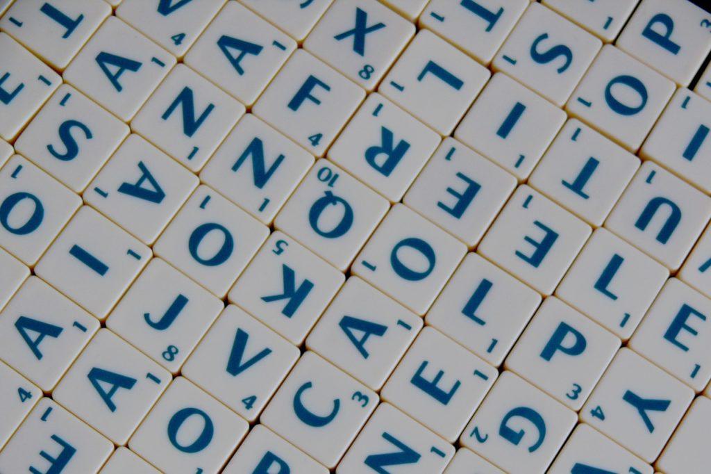 Buchstaben Mix