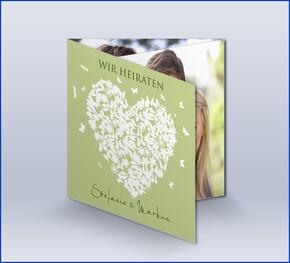 Hochzeitseinladungen » Selbst gestalten » Online