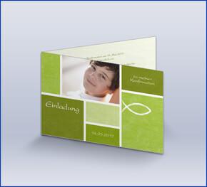einladungskarten zur kommunion oder konfirmation, Kreative einladungen