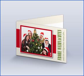 Weihnachtskarten f r firmen online gestalten lieferung in for Weihnachtskarte foto online