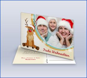 Weihnachtskarten Mit Bild Gestalten.Weihnachtskarten Online Gestalten Lieferung In 1 3 Tagen