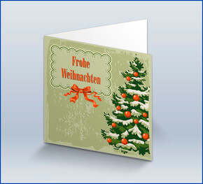 private weihnachtskarten online gestalten lieferung in 1. Black Bedroom Furniture Sets. Home Design Ideas