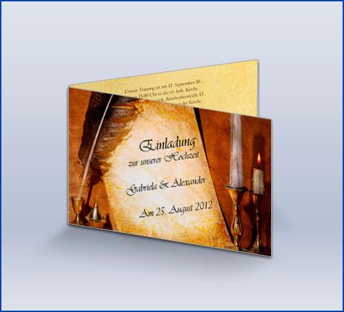 daskartendruckhaus.de, Einladung