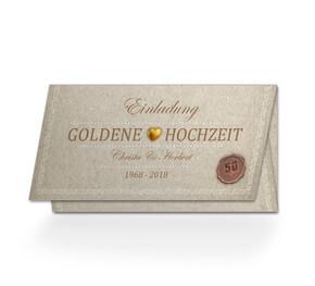 Einladungen Zur Goldhochzeit Online Gestalten Und Bestellen