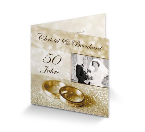 Einladungstexte Zur Goldenen Hochzeit Sprüche Zur Goldenen