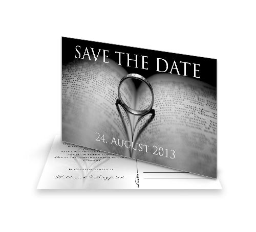 Save The Date Karte Just Married