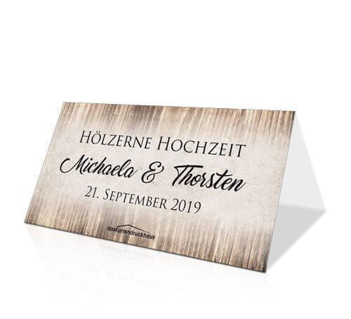 Einladungskarten Zur Hölzernen Hochzeit