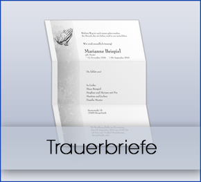 Trauerbriefe